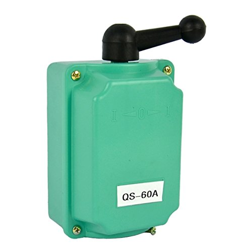 60 Amp Drum Switch Forward/Off/Reverse Motor Control Rain Proof Reversing (Switch Reversing Motor)