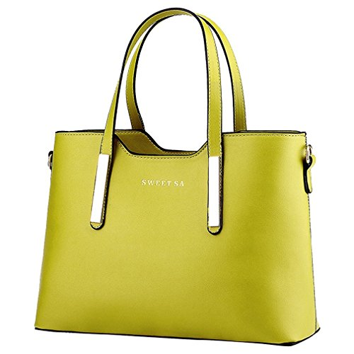 Bag Women Zipper Messenger Bags Adoo Handbags Shoulder Green YqIazw