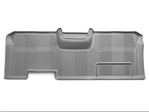 Goodyear Rear Custom Fit Floor Mat for Select Ford F-150 Models - (Grey)