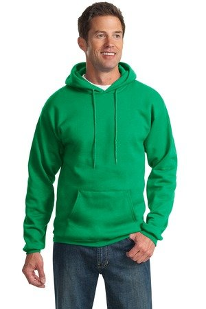 CBTLVSN Men Letter Print Hooded Pullover Sweatshirt with Pocket