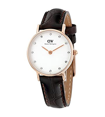 Daniel Wellington Women's 0902DW Classy York Swarovski Crystal-Accented Watch