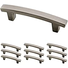 Franklin Brass P29519K-904-B Heirloom Silver 3-Inch Pierce Kitchen or Furniture Cabinet Hardware Drawer Handle Pull, 10 pack