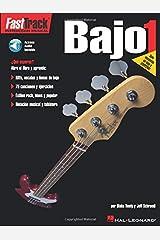 FastTrack Bass Method 1 - Spanish Edition: FastTrack Bajo 1 (GUITARE BASSE) Paperback