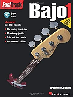 Fast Track Bajo 1 Bass Guitar (Book/Cd Spanish Edition)