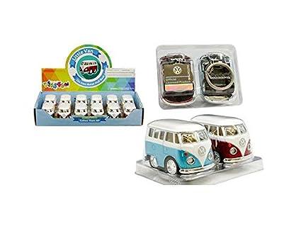 Amazon.com: KINSFUN - Llavero de Volkswagen Little Van de 2 ...