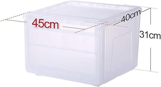KLEDDP - Caja de plástico Transparente con Tapa para contenedor ...