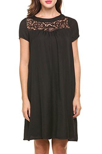 Buy below the knee black dress - 6