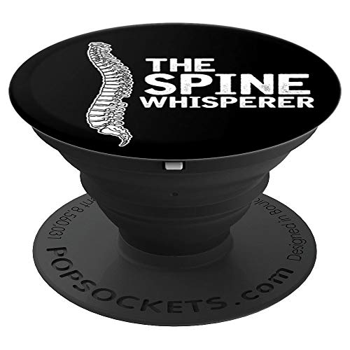 (Spine Whisperer Pop Socket Gift for a Chiropractor - PopSockets Grip and Stand for Phones and)