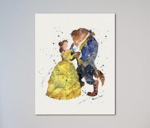 Beauty and the Beast dancing Love Gift 11