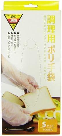 コーナンオリジナル 調理用ポリ手袋 S 100枚入