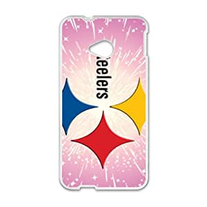 Shining Pink Steelers Hot Seller Stylish Hard Case For HTC One M7