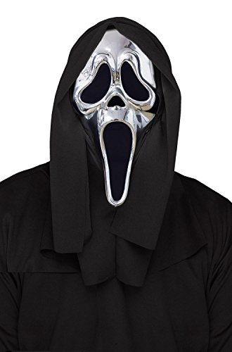 Silver Ghost Face Mask - Scream 25th Anniversary -
