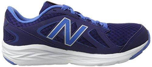 Balance White Mujer Zapatillas 490v4 Azul Interior para Deportivas New para Blue dvCHpd