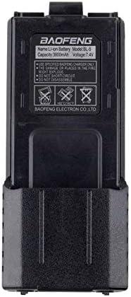 para Baofeng BL-5L 3800mah 7.4v Reemplazo de batería de Ion de Litio extendido y energía de Respaldo de la batería para Radio Baofeng UV-5R: Amazon.es: Deportes y aire libre