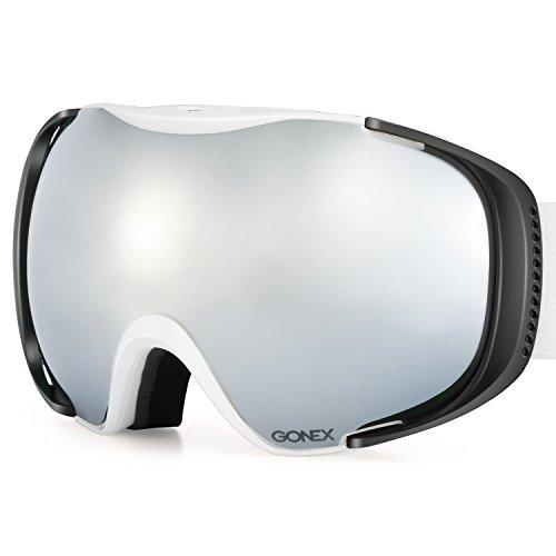 ventilated ski goggles - 1