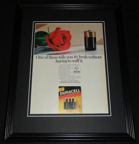 1987-duracell-batteries-11x14-framed-original-vintage-advertisement