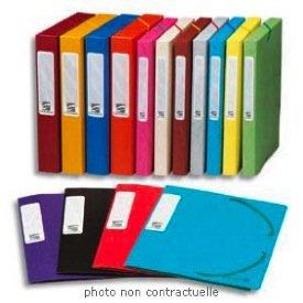 Exacompta 14006H - Archivador sin anillas (24 x 32 cm, 10 unidades), multicolor: Exacompta: Amazon.es: Oficina y papelería