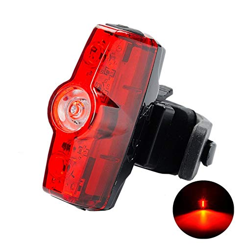 creatYspace A117 Cycling Bicycle Taillights USB Charging Highlight Taillights Waterproof Mountain Bike Warning Lights Night Riding