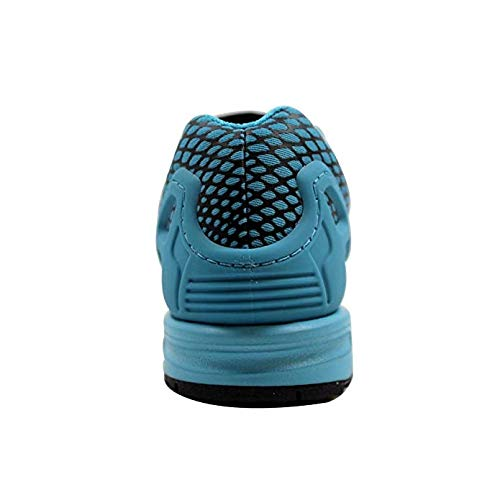 adidas ZX Flux Techfit Men's Shoes Core (9.5 D (M) US, CoreBlack/Blancsea/Noiess/Merbla/Noiess)