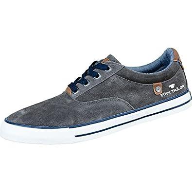 Tom Sneaker Grau213411344Schuhe Tailor Herren Leder 4RjALq35c