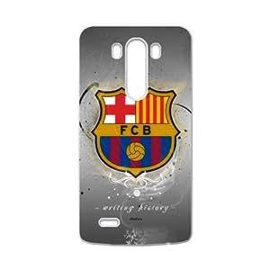 SANLSI Fc Barcelona Logo Cell Phone Case for LG G3