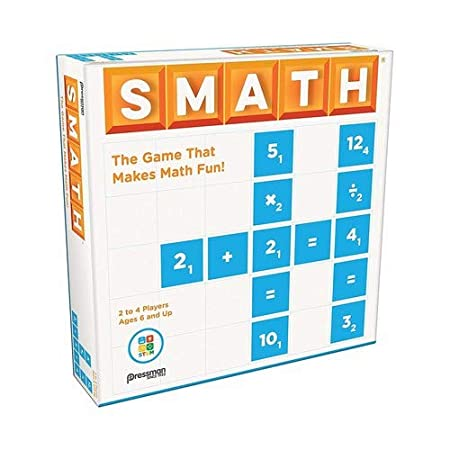 Pressman Smath Toy, Multicolor, 5