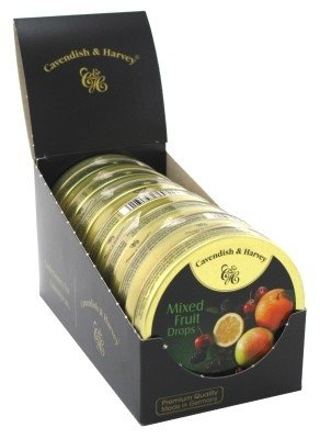 Cavendish & Harvey Mixed Fruit Drops 1.75oz (7 Pack)