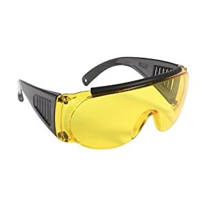 Allen Company Shooting & Safety Glasses for Use with Prescription Glasses, Fit Over Glasses