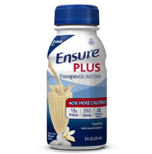Ensure Plus Ready To Use (Vanilla) 24/8-Fl-Oz Bottles – 1 Case Of 24