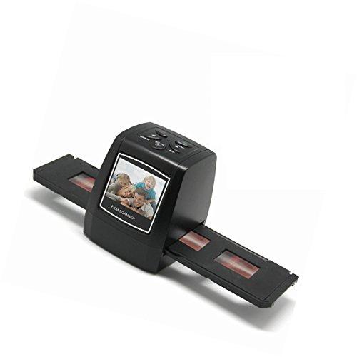 Del-Digital 35mm Negative Slide Film Scanner Photo Digitalizer Analog to Digital JPEG Picture File Converter Films Photo Scanner Copier 2.4'' LCD, US Power Plug by Del-Digital (Image #1)
