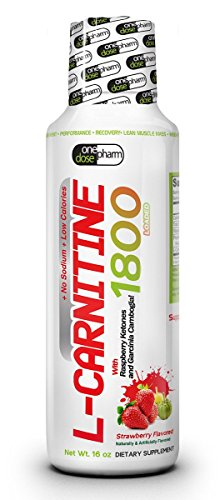 L-Carnitine Liquid 1800 Strawberry