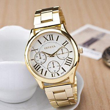 Relojes Hermosos, Reloj de cuarzo de moda marca de relojes de cuero caso de esfera