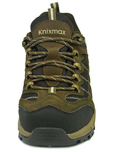 Chaussures Marron Extrieure De Bas Randonne Baskets Trekking D'escalade Bottes Hommes Knixmax Lger Impermables Pour p1wwBq