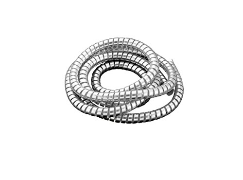 Drag Specialities DS223001 Chrome Spiral Cable Wrap/Wire Tidy, Large