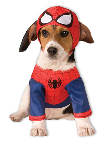Rubies Costume Company Marvel Classic/Marvel Universe Spider-Man Pet Costume, Medium