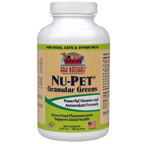 Ark Naturals Nu Pet (Nu-Pet Granular Greens (Powder) 240 grams - Yeast)