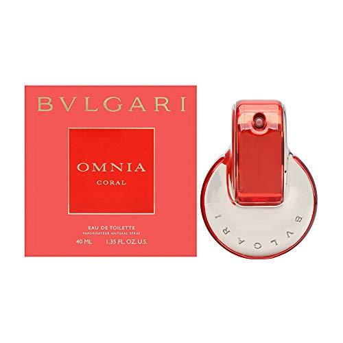 Bulgari Omnia Coral, femme/woman, Eau de Toilette Vaporisateur, 1er Pack (1 x 40 ml)