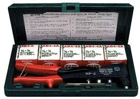 - Marson 39001 200 Kit with Hp-2 & Assorted Klik-Fast Rivets with Ca by Marson