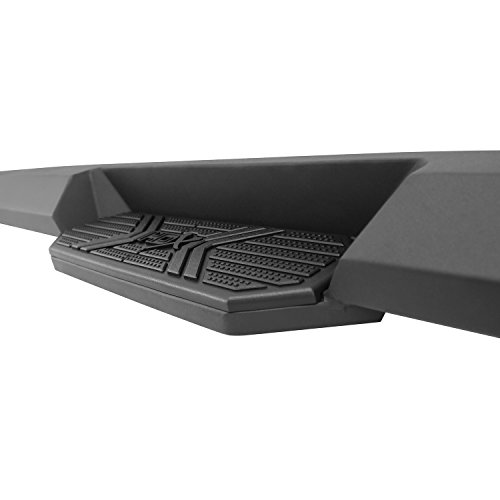 Rails Westin Step - Westin Automotive Products 56-23725 Textured Black HDX Xteme Board (for Chevy Silverado and GMC Sierra)