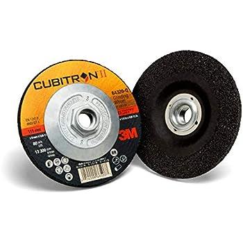 Pack of 25 Cubitron II Fibre Disc 3M ABR-982C-80-4.5x0.875 80+ Grade 25 4-1//2 x 7//8