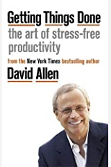 Getting Things Done: The Art of Stress-free Productivity Capa comum