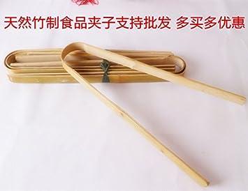 Xing Lin Pinzas De Barbacoa Clip De Comida, Barbacoa, Bambú, Madera, Bambú