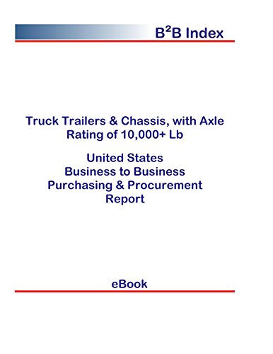 Truck Trailers & Chassis, with Axle Rating of 10,000+ Lb B2B United States: B2B Purchasing + Procurement Values in the United States