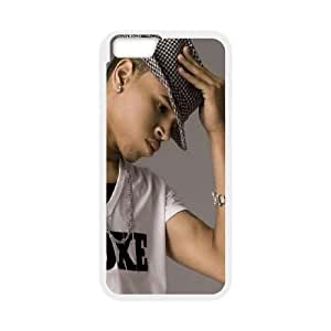Chris Brown iPhone 6 4.7 Inch Cell Phone Case White Jipwx
