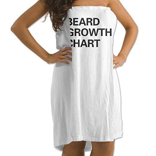 DWN Bath Towels Beard Growth Chart 32