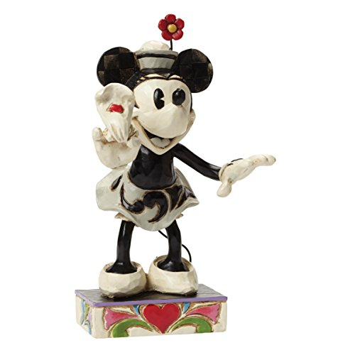 Department 56 Disney Traditions by Jim Shore Minnie Mouse Figurine, - Jim Whitehall