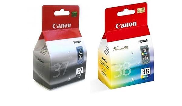 Canon - Cartuchos de tinta para impresora Canon Pixma MP140 (2 ...