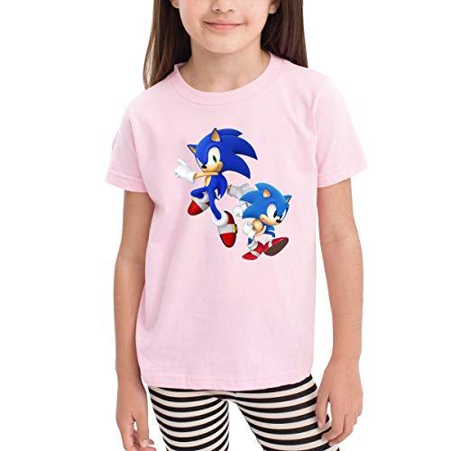 HiPiClothK Children's Boy's&Girl's Sonic Hedgehog Classic Children's T-shirt 4T]()
