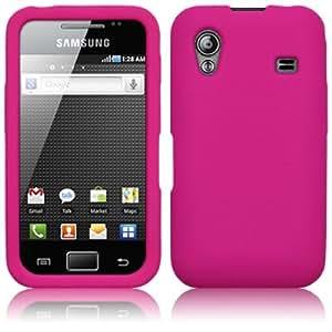 Funda de Silicona Samsung Galaxy ACE S5830 Rosa Fucsia