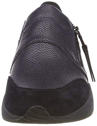 basse scuro C4002 Sneakers D Geox Omaya A blu Blu donna wRIZ8z